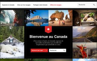 Canadian Tourism Commission Website