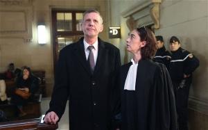 Doctor Michel Aubertel waits for the verdict in Paris Photo- AFP/GETTY