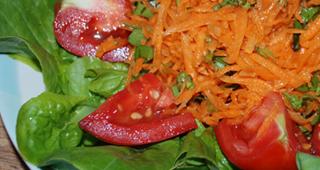 salad carrot tomato lettuce lat multilingual latmultilingual