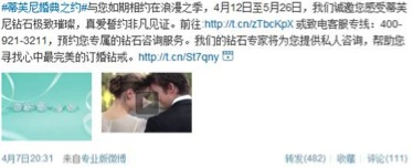 Tiffany & Co. does Customer Service on Weibo