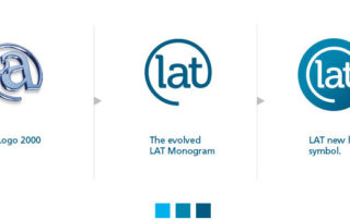 Evolution of LAT's logo