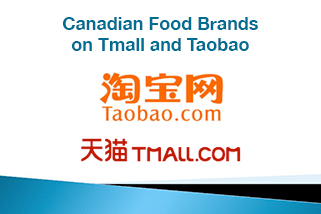 Canadian Food Brands on Tmall and Taobao