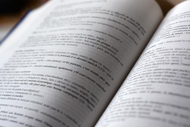 Open dictionaries