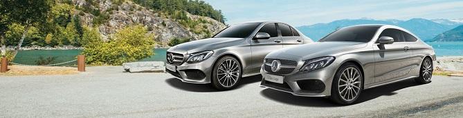 Mercedes-Benz Coupe models