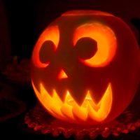 halloween pumpkin melon